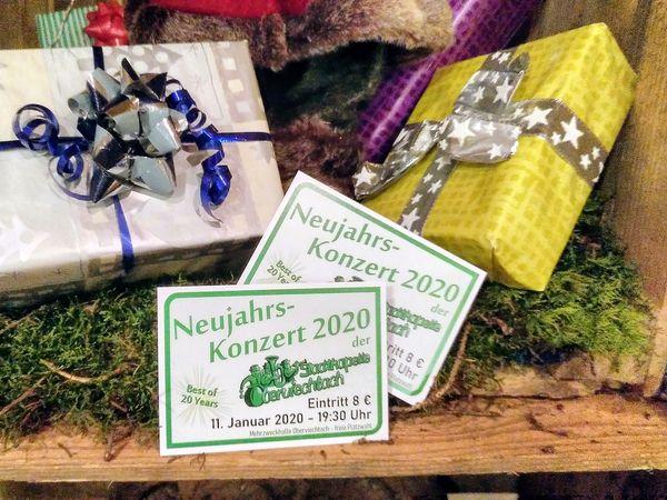 Weihnachtsgeschenk: Karten für das Neujahrskonzert